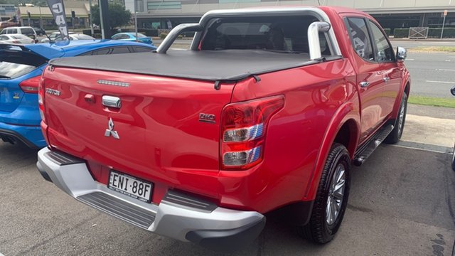 Used Mitsubishi Triton MQ MY16 GLS Double Cab Cardiff, 2015 Mitsubishi Triton MQ MY16 GLS Double Cab Red 6 Speed Manual Utility