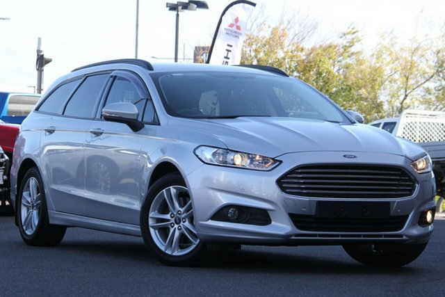 Used Ford Mondeo MD Ambiente Essendon Fields, 2016 Ford Mondeo MD Ambiente Silver, Chrome 6 Speed Sports Automatic Wagon