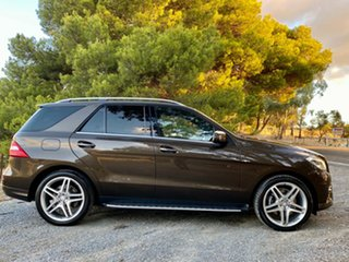 2014 Mercedes-Benz M-Class W166 ML350 BlueTEC 7G-Tronic + Citrine Brown/cashme 7 Speed.