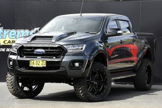 2015 Ford Ranger PX MkII XLT Double Cab 4x2 Hi-Rider Dark Grey 6 Speed Sports Automatic Utility.