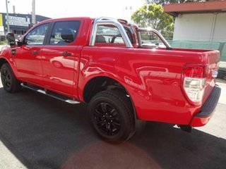 2016 Ford Ranger PX MkII XLS 3.2 (4x4) Red 6 Speed Automatic Double Cab Pick Up