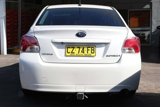 2012 Subaru Impreza G4 MY13 2.0i-L Lineartronic AWD White 6 Speed Constant Variable Sedan