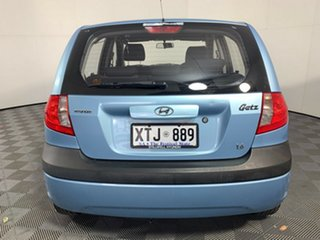 2008 Hyundai Getz TB MY07 SX Blue 4 Speed Automatic Hatchback