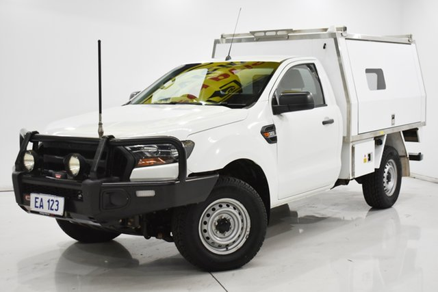 Used Ford Ranger PX MkII XL Brooklyn, 2015 Ford Ranger PX MkII XL White 6 Speed Manual Cab Chassis