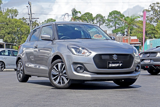Demo Suzuki Swift AZ Series II GLX Turbo Ebbw Vale, 2020 Suzuki Swift AZ Series II GLX Turbo Mineral Grey 6 Speed Sports Automatic Hatchback