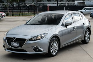 2015 Mazda 3 BM Series Touring Silver Sports Automatic Hatchback.
