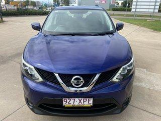 2017 Nissan Qashqai J11 ST Blue/301017 1 Speed Constant Variable Wagon