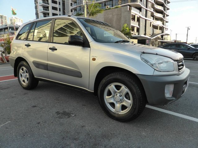 Used Toyota RAV4 ACA21R Edge (4x4) Southport, 2001 Toyota RAV4 ACA21R Edge (4x4) Silver 5 Speed Manual 4x4 Wagon