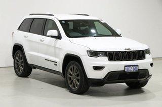 2017 Jeep Grand Cherokee WK MY16 75th Anniversary (4x4) White 8 Speed Automatic Wagon