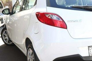 2012 Mazda 2 DE10Y2 MY12 Neo White 5 Speed Manual Hatchback