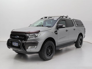 2016 Ford Ranger PX MkII MY17 Wildtrak 3.2 (4x4) Silver 6 Speed Manual Dual Cab Pick-up.