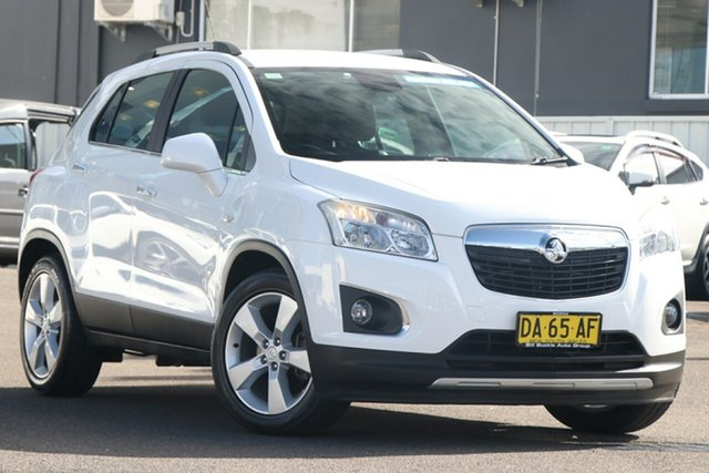 Pre-Owned Holden Trax TJ MY14 LTZ Brookvale, 2013 Holden Trax TJ MY14 LTZ White 6 Speed Automatic Wagon
