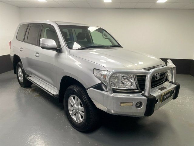 Used Toyota Landcruiser VDJ200R MY13 GXL Cardiff, 2015 Toyota Landcruiser VDJ200R MY13 GXL Silver 6 Speed Sports Automatic Wagon