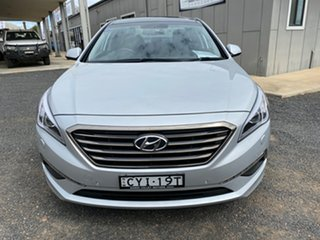2015 Hyundai Sonata LF Premium Silver 6 Speed Automatic Sedan