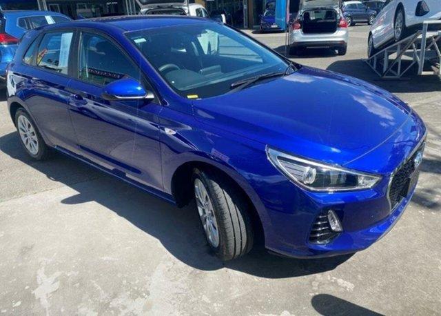 Used Hyundai i30 PD.3 MY20 Go Springwood, 2019 Hyundai i30 PD.3 MY20 Go Intense Blue 6 Speed Sports Automatic Hatchback