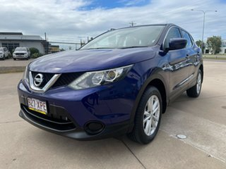 2017 Nissan Qashqai J11 ST Blue/301017 1 Speed Constant Variable Wagon