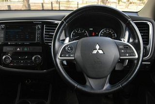 2012 Mitsubishi Outlander ZJ MY13 Aspire 4WD White 6 Speed Constant Variable Wagon