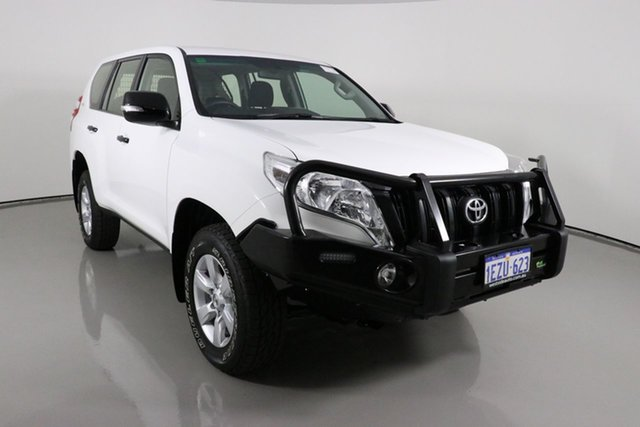 Used Toyota Landcruiser Prado GDJ150R MY16 GX (4x4) Bentley, 2016 Toyota Landcruiser Prado GDJ150R MY16 GX (4x4) White 6 Speed Automatic Wagon