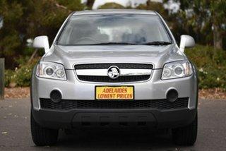 2010 Holden Captiva CG MY10 SX AWD Silver 5 Speed Sports Automatic Wagon.