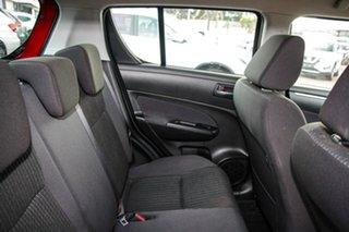 2016 Suzuki Swift FZ MY15 GL Red 4 Speed Automatic Hatchback