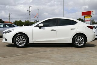 2018 Mazda 3 BN MY18 Touring (5Yr) White 6 Speed Automatic Sedan