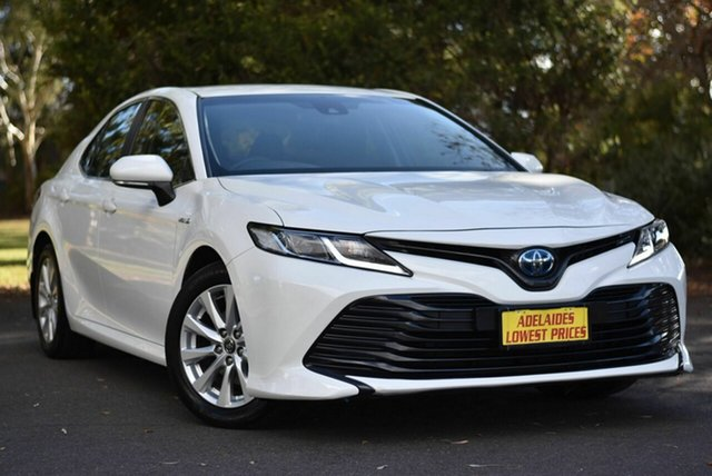 Used Toyota Camry AXVH71R Ascent Melrose Park, 2018 Toyota Camry AXVH71R Ascent White 6 Speed Constant Variable Sedan Hybrid