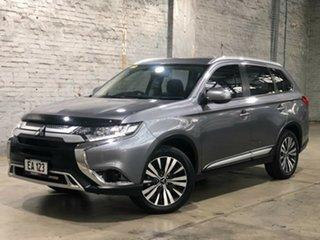 2018 Mitsubishi Outlander ZL MY18.5 ES 2WD Grey 6 Speed Constant Variable Wagon.