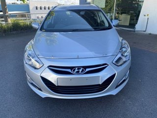 2011 Hyundai i40 VF Elite Tourer Silver 6 Speed Sports Automatic Wagon.