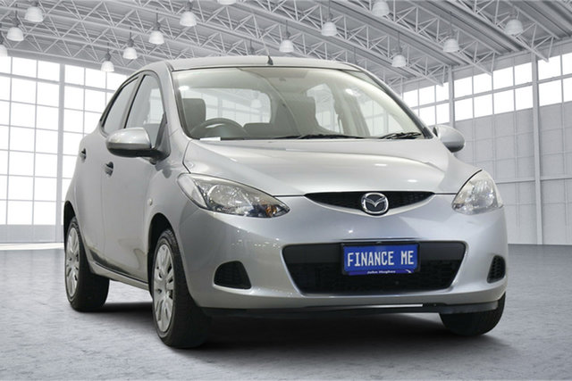 Used Mazda 2 DE10Y1 Neo Victoria Park, 2009 Mazda 2 DE10Y1 Neo Grey 5 Speed Manual Hatchback