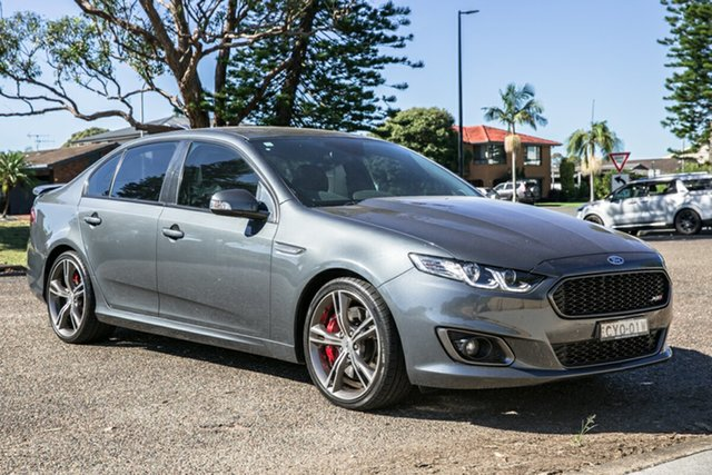 Used Ford Falcon FG X XR8 Port Macquarie, 2015 Ford Falcon FG X XR8 Grey 6 Speed Manual Sedan