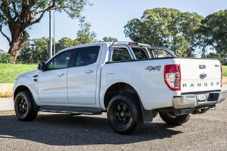 2016 Ford Ranger PX MkII XLT Double Cab Cool White 6 Speed Manual Utility