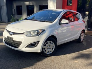 2014 Hyundai i20 PB MY14 Active White 6 Speed Manual Hatchback