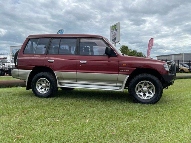 Used Mitsubishi Pajero NL GLS Berrimah, 1999 Mitsubishi Pajero NL GLS Red 5 Speed Manual Wagon