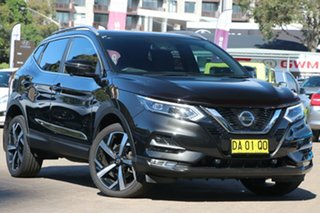 2020 Nissan Qashqai MY20 TI Black Continuous Variable Wagon.