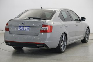 2015 Skoda Octavia NE MY16 RS Sedan DSG 162TSI Grey 6 Speed Sports Automatic Dual Clutch Liftback