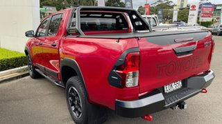 2018 Toyota Hilux GUN126R Rugged X Double Cab Olympia Red 6 Speed Sports Automatic Utility
