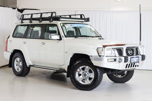 Used Nissan Patrol GU 7 MY10 ST Wangara, 2011 Nissan Patrol GU 7 MY10 ST White 5 Speed Manual Wagon