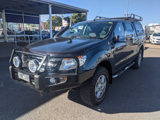 2014 Ford Ranger PX XLT Double Cab Metropolitan Grey 6 Speed Sports Automatic Utility.