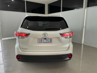 2015 Toyota Kluger GSU50R GX 2WD White 6 Speed Sports Automatic Wagon