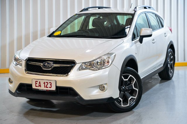 Used Subaru XV G4X MY14 2.0i AWD Hendra, 2013 Subaru XV G4X MY14 2.0i AWD White 6 Speed Manual Wagon