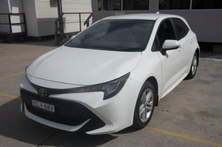 2018 Toyota Corolla Mzea12R Ascent Sport i-MT White 6 Speed Manual Hatchback.