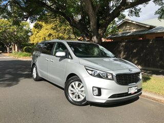 2017 Kia Carnival YP MY17 SI Silver 6 Speed Sports Automatic Wagon.