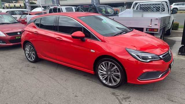 Used Holden Astra BK MY17 RS-V Cardiff, 2016 Holden Astra BK MY17 RS-V Red 6 Speed Manual Hatchback