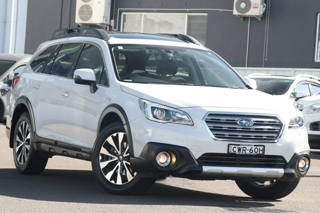 Used Subaru Outback B6A MY16 2.5i CVT AWD Premium Brookvale, 2016 Subaru Outback B6A MY16 2.5i CVT AWD Premium White 6 Speed Constant Variable Wagon