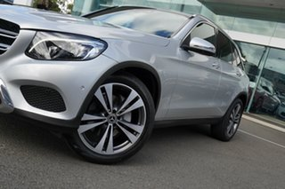 2017 Mercedes-Benz GLC250D 253 MY17 Iridium Silver 9 Speed Automatic Wagon.