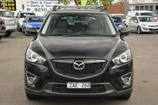 2012 Mazda CX-5 KE1021 Maxx SKYACTIV-Drive AWD Sport Black 6 Speed Sports Automatic Wagon.