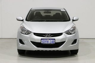 2012 Hyundai Elantra MD Active Silver 6 Speed Automatic Sedan.