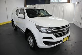 2016 Holden Colorado RG MY17 LS Pickup Crew Cab 4x2 White 6 Speed Sports Automatic Utility.