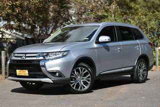 2016 Mitsubishi Outlander ZK MY17 LS 4WD Safety Pack Silver 6 Speed Constant Variable Wagon.