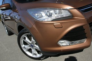 2013 Ford Kuga TF Titanium PwrShift AWD Burnished Glow 6 Speed Sports Automatic Dual Clutch Wagon.